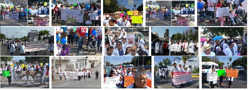 Paro Nacional convocado por #YoSoyMedico17, #TodosSomosLuis