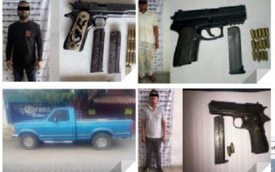 3 personas armadas son detenidas en la Costa