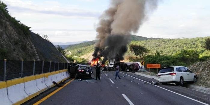 Accidente Carretero en autopista México – Acapulco