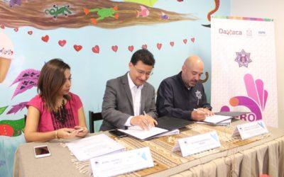 Firma de convenio de colaboración interinstitucional entre la secretaría de seguridad pública y la fiscalía general del estado
