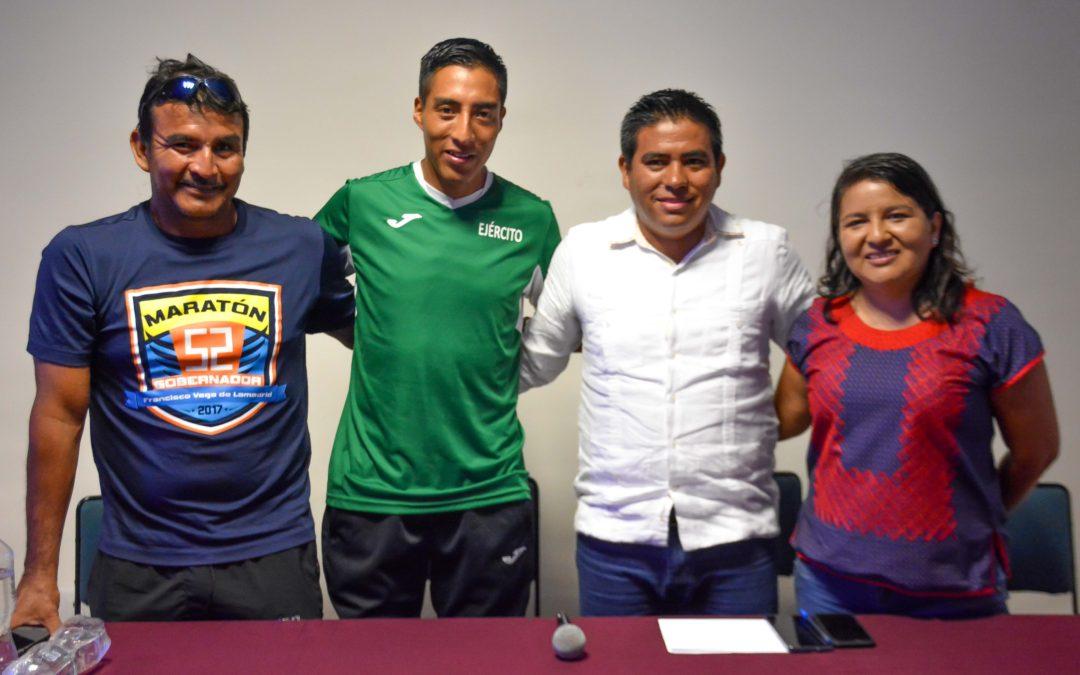 Huatulco escenario para entrenamiento del atleta Darío Castro