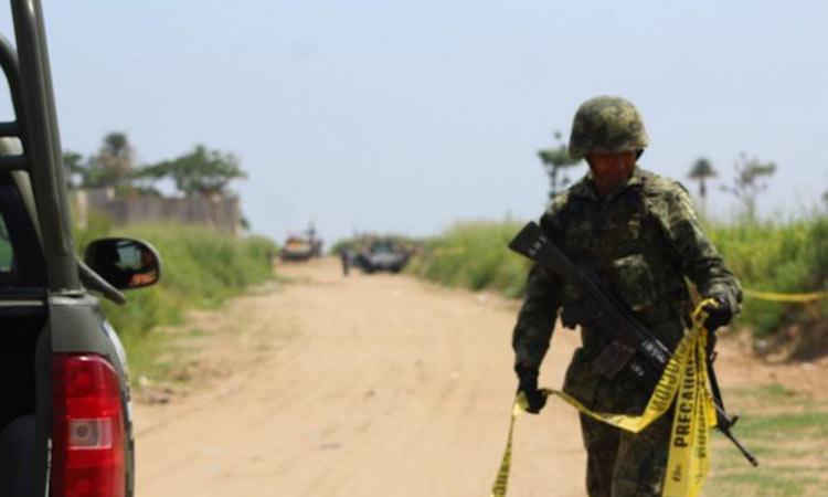 Denuncian en Veracruz existencia de fosa clandestina