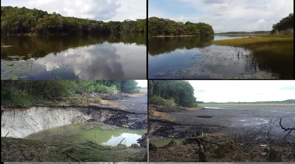 Desaparece la Laguna de Chakan Bakan
