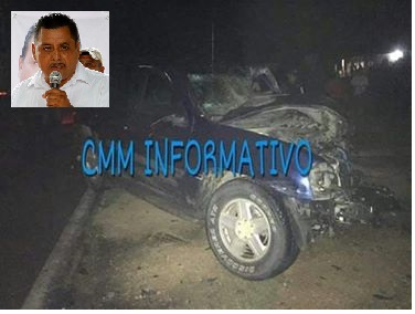 Muere en accidente presidente municipal de Tetepec