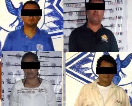 Reporta policía estatal cuatro detenciones por la presunción de delitos de orden federal
