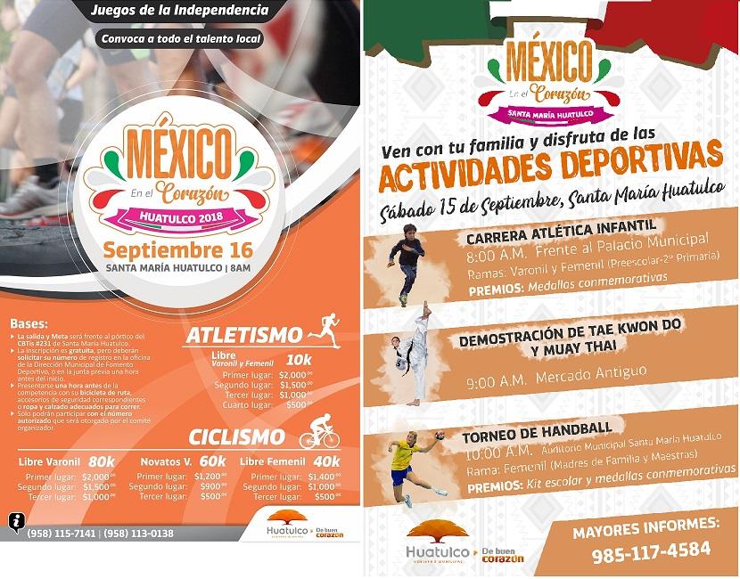 Actividades Deportivas Septiembre