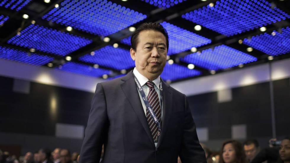 China confirma que retiene al presidente de Interpol