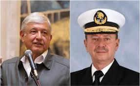 José Rafael Ojeda Durán, secretario de Marina con Amlo