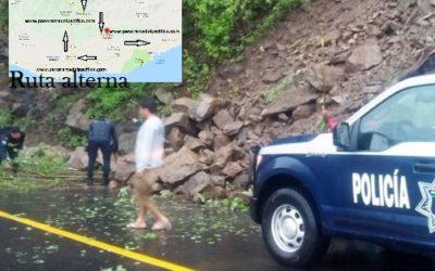 Cierran la carretera federal 200 tramo Huatulco a Pochutla