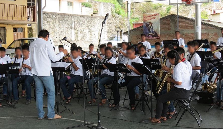 Banda de música de estudiantes de educación indígena de Zoogocho, orgullo de Oaxaca: IEEPO