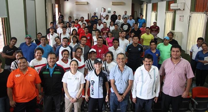 Certifica Conade a entrenadores oaxaqueños de diversas disciplinas
