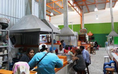 Concluye Sinfra rehabilitación de cinco mercados en oaxaca