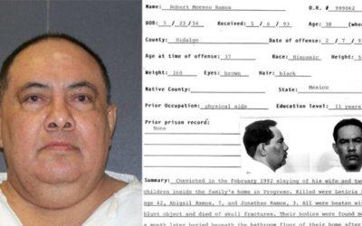 Texas ejecuta a una persona del Ciruelo,   que mató a su esposa e hijos