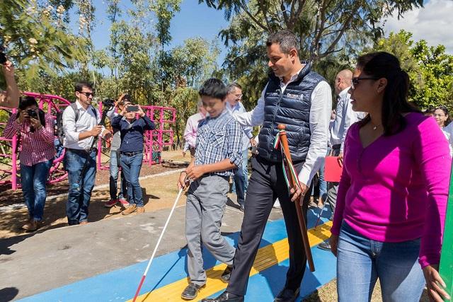 Inaugura AMH primeros Parques Incluyentes de Oaxaca