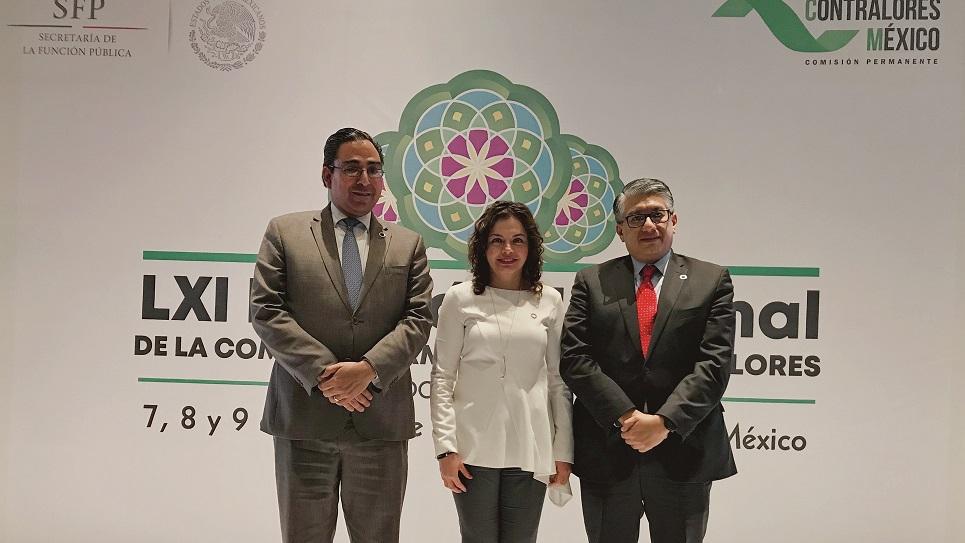 Oaxaca en la Coordinación Nacional Suplente de Contralores del País