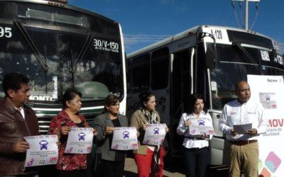 Ponen en marcha Semovi-SMO programa contra la violencia hacia las mujeres en transporte público