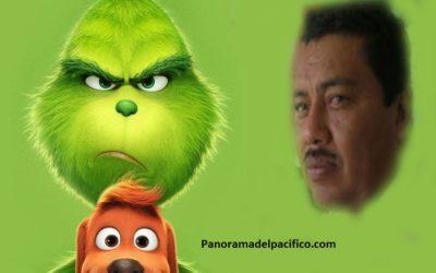 Víctor Cruz el Grinch de Pochutla