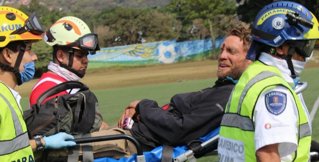 Rescate de turista alemán en Tepoztlán