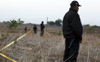 Fiscalía del Estado:  Avanza identificación los cuerpos localizados en fosas de Colima