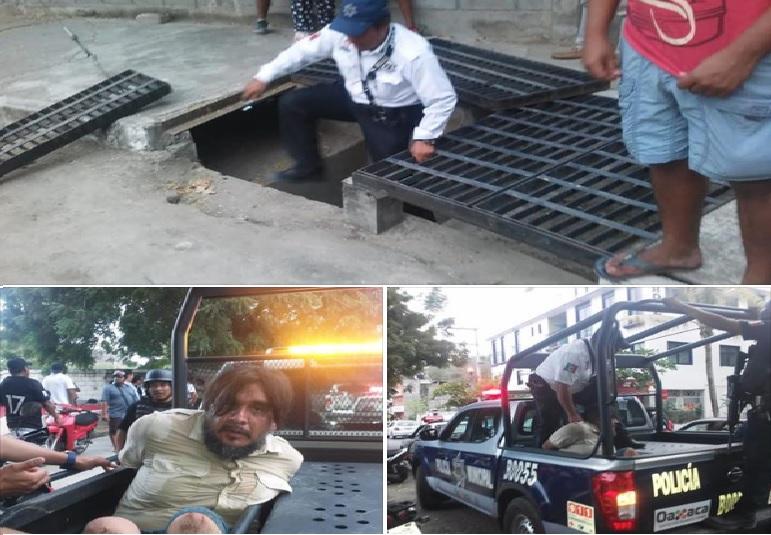Policías viales Municipales capturan a presunto ladrón en Huatulco
