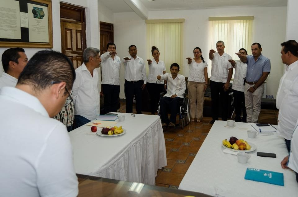 Nombra edil Giovanne González a Jefes de Área en Huatulco