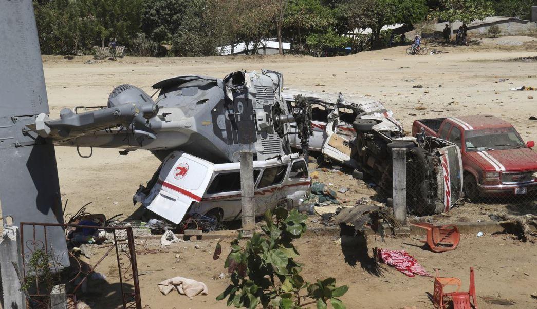 """Más de 3 MDP para cada familia de los fallecidos en el """"helicopterazo"""" de Jamiltepec"""