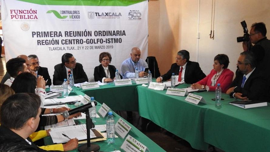 Aporta Oaxaca en 1ª Reunión Ordinaria de Contralores 2019