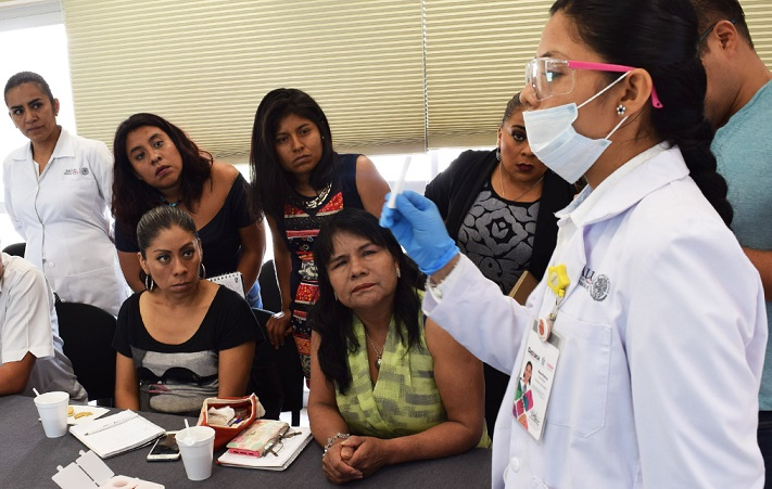 """Imparte Coesida taller de """"Prevención y detección del VIH"""""""