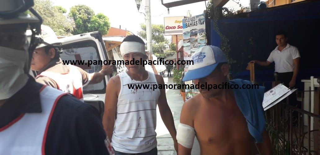 Son siete heridos tras agresión en Huatulco a comuneros de San Miguel del Puerto