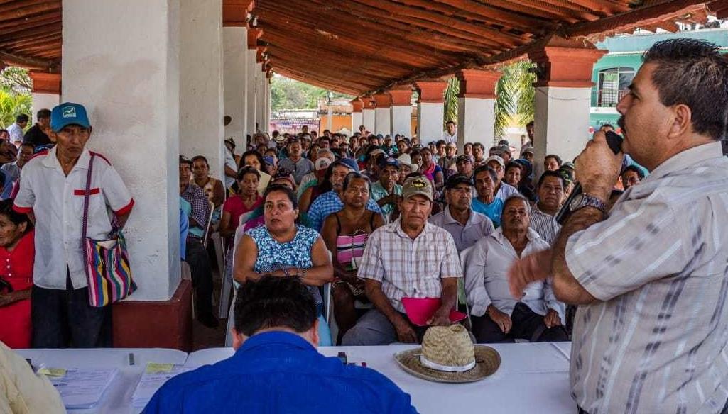 Entrega de apoyos del programa Proagro Productivo en Huatulco