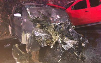 Fuerte accidente vial en Puente Coyula, deja 4 lesionados
