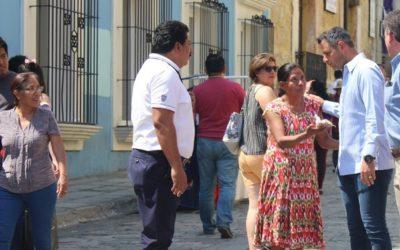 Visitantes nacionales y extranjeros destacan la paz y la seguridad de Oaxaca
