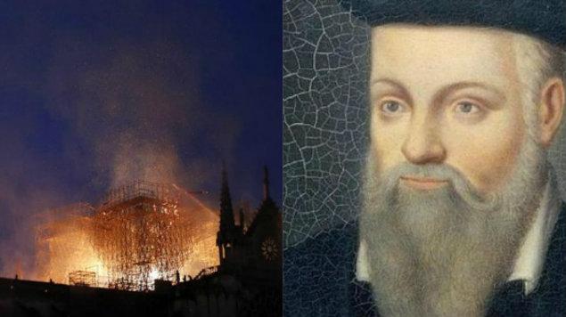 Nostradamus escribió hace 500 años que una iglesia ardería por los pecadores