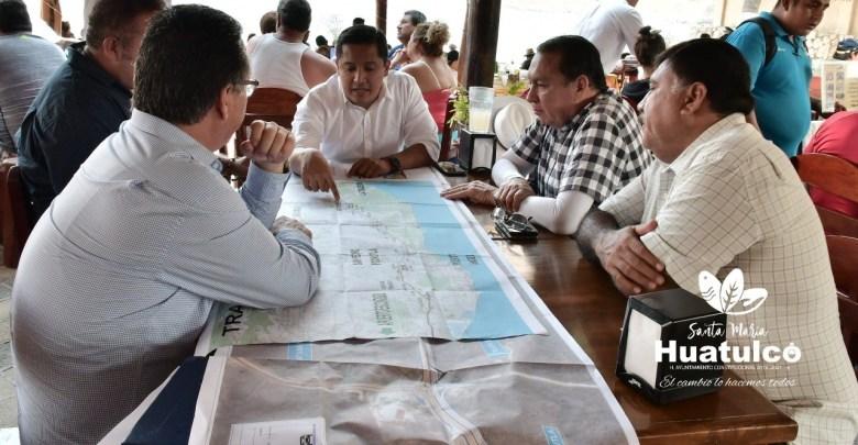 Huatulco da seguimiento al proyecto de la carretera federal 200