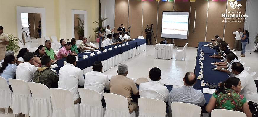 Huatulco establece protocolos para Temporada de lluvias y ciclones tropicales 2019