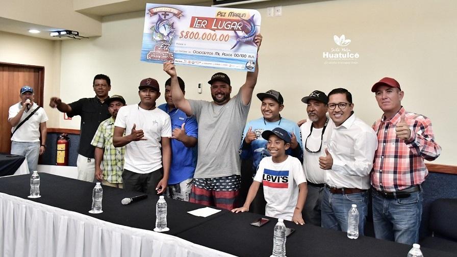 Premiación del Torneo de Pesca Huatulco 2019