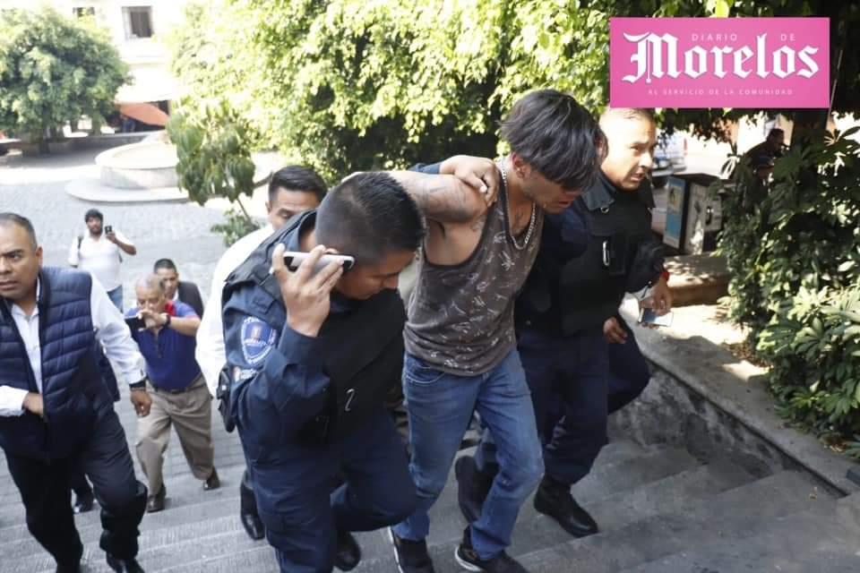 Se registra balacera en el centro de Cuernavaca