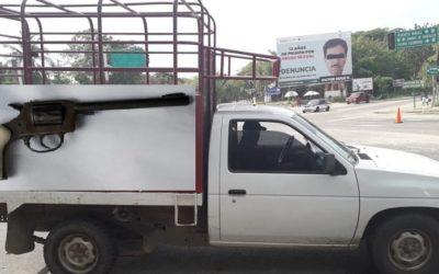 Detienen a persona armada en implementación del Operativo Sellamiento en Pochutla