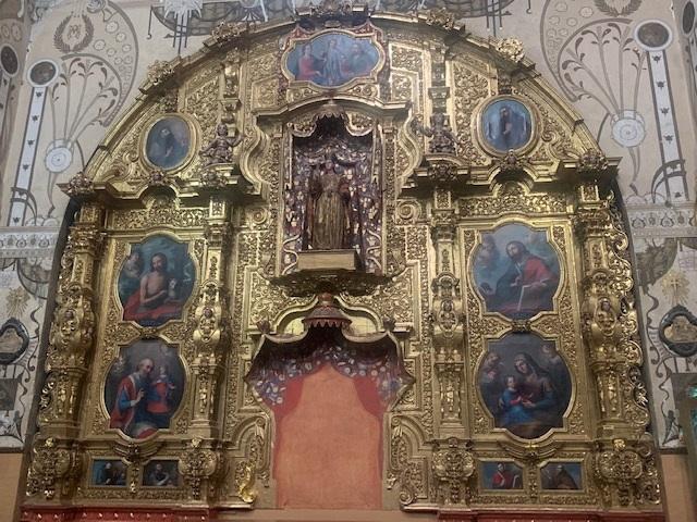 Entrega Inpac restauración de retablo del siglo XVIII: Seculta