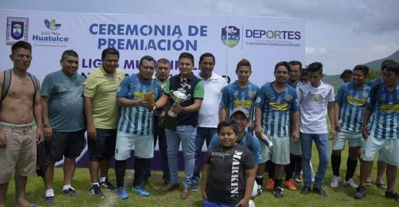 Final de la liga municipal de Fútbol, Transporte Huatulco 2000 se corona campeón