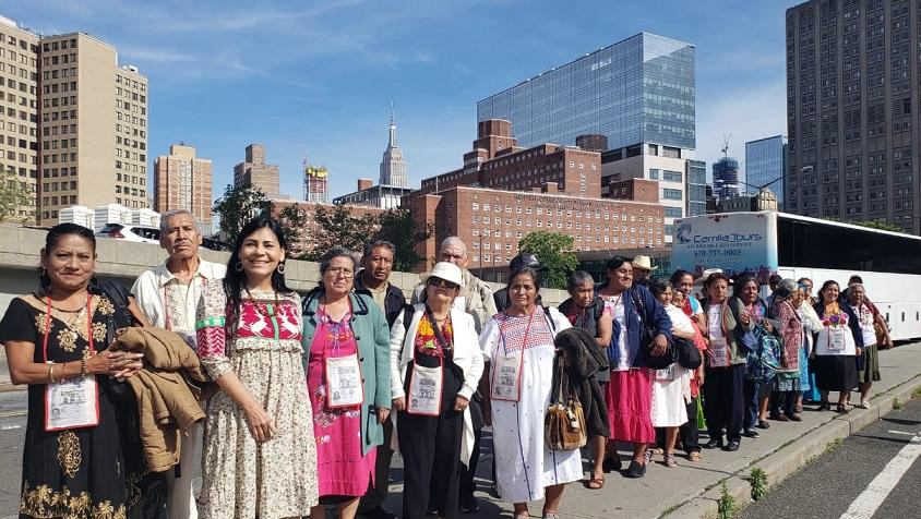 Presenta las ediciones 29 y 30 del Programa Guelaguetza Familiar en Nueva York, EU