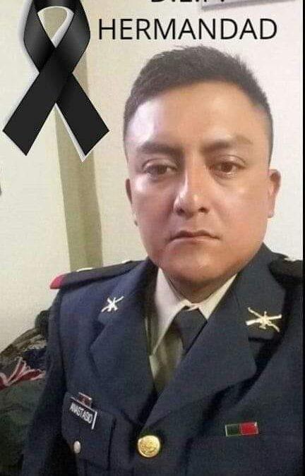 Era oaxaqueño el teniente Carlos de la guardia nacional abatido en Guanajuato