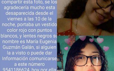 Fue localizada sin vida la joven que estaba desaparecida en Puerto Escondido