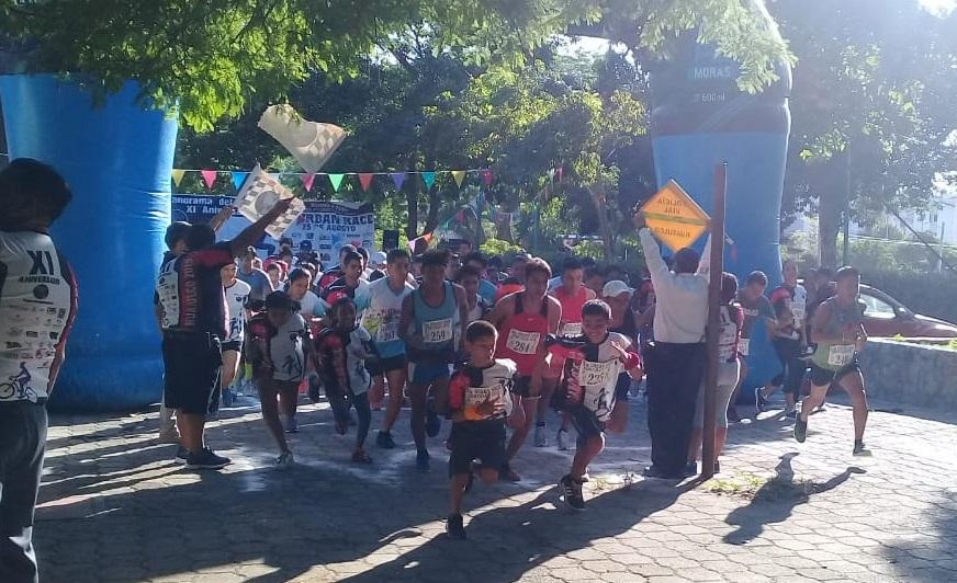 Con éxito se llevó la 3° Urban Race Huatulco 2019