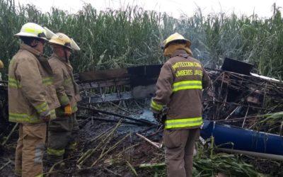 Una avioneta se estrelló en Jalisco