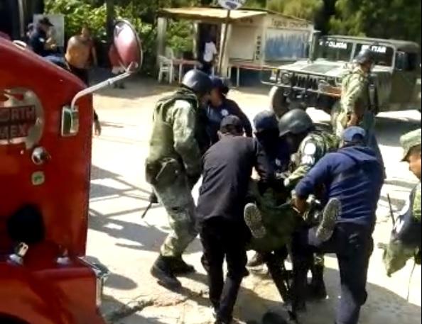 Atacan a balazos a integrantes de Guardia Nacional en Chiapas