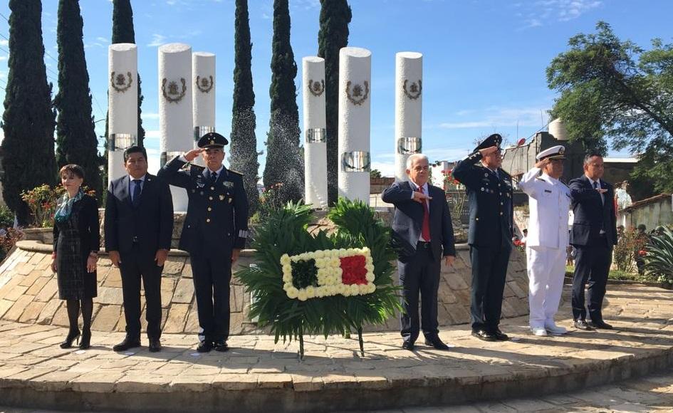 Conmemoran el 172 aniversario de la Gesta Heróica de Chapultepec