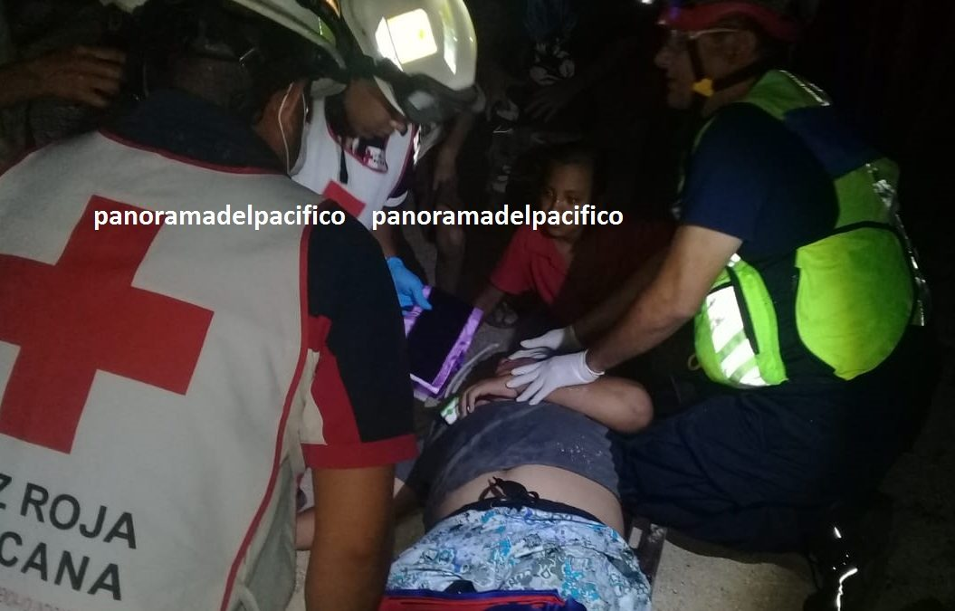 Se accidenta motociclista en Huatulco