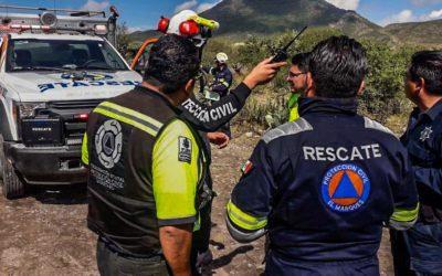 Caída de avioneta en la comunidad de Chichimequillas