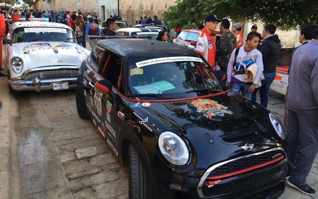 Llegan a Oaxaca la Carrera Panamericana Rally 2019